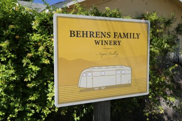 Behrens Family Winery in the Napa Valley